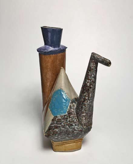 ewer-3-john-gill abstract ceramic ewer