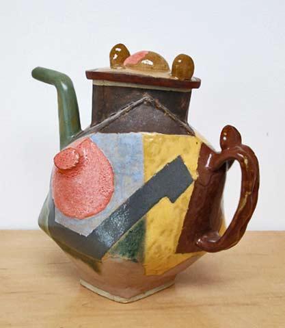 John Gill teapot-2aeapot-2-2013-stoneware