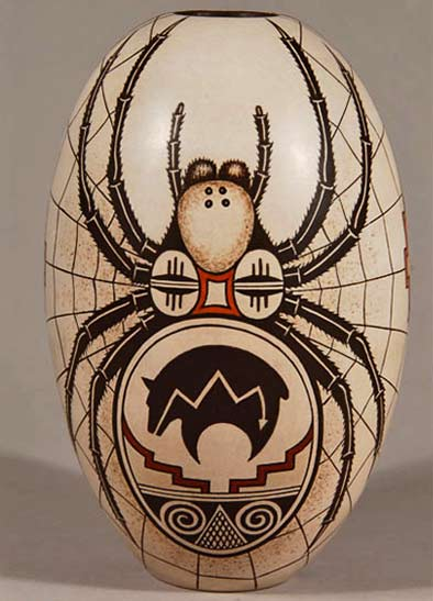 hopi-polychrome-tall-jar-with-spider-design-by-burel-naha