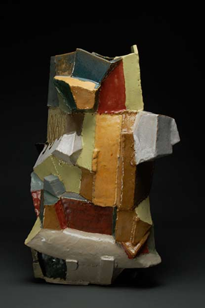 John Gill lone-vase-stoneware