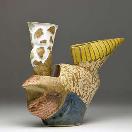 John Gill ceramic-ewer