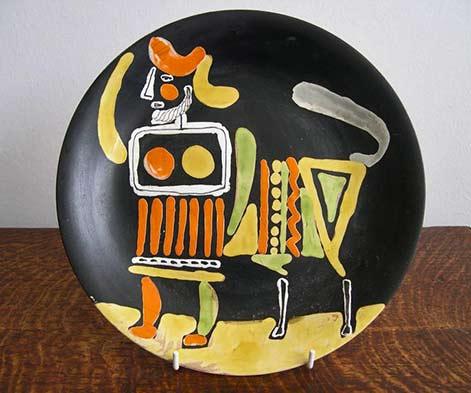 -roger-capron-vallauris-ceramic-plates-circa-1960-picasso-style