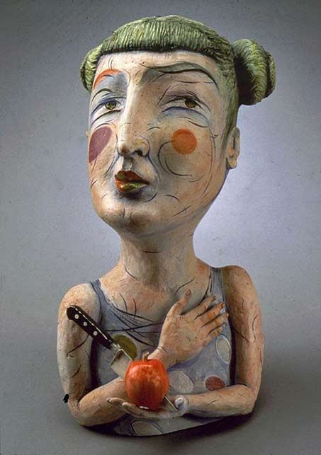 patti-warashina-9 ceramic bust