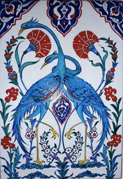 peacock-in-duo-danielle-adjoubel ceramic art