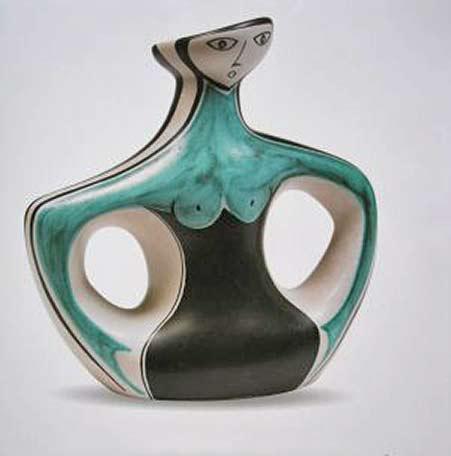 pol-chambost figural vase