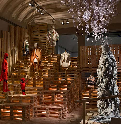 utopian-bodies-installation-view-of-sustainability-gallery-with-dresses-by-issey-miyake-dai-fujiwara-hm-hussein-chalaya