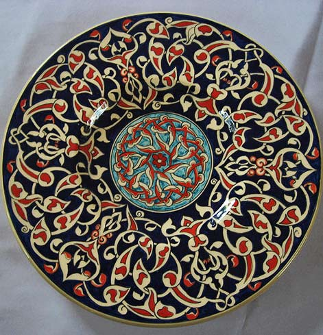arabesques-danielle-adjoubel ceramic plate