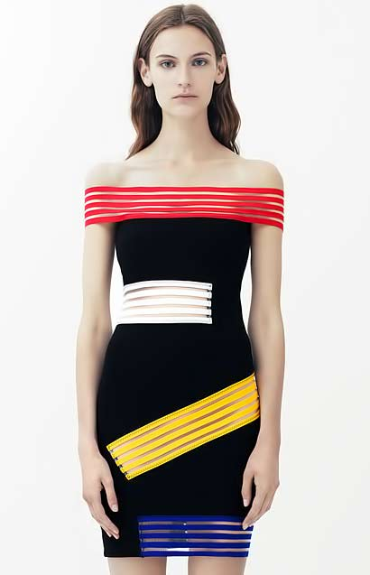 christipher_kane mondrian style dress