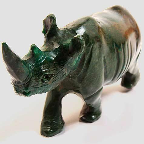 green shona_stone_sculpture zimbabwe-africa hippo