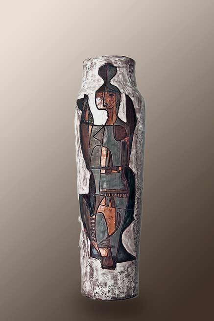 achiel-pauwels-mid century style vase