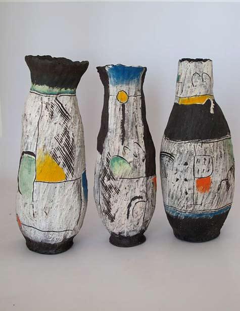three clementina-vessels