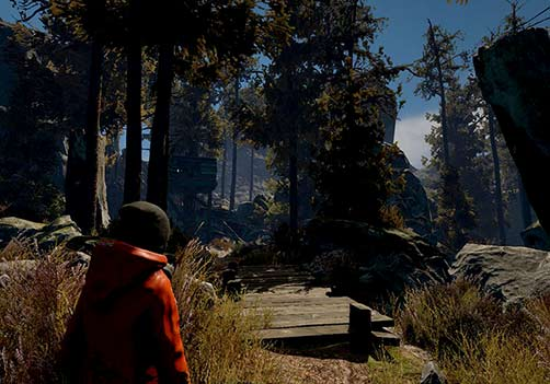 Through the Woods is a third-person Norse horror adventure set in a forest on the western shores of Norway