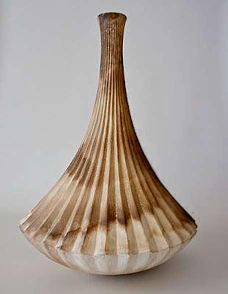 gerhard-van-den-heever vertical ribbed vase