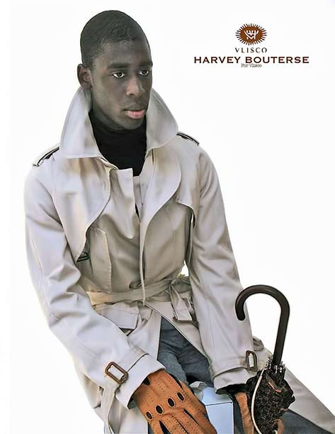 harvey-bouterse-for-vlisco-men - trench coat