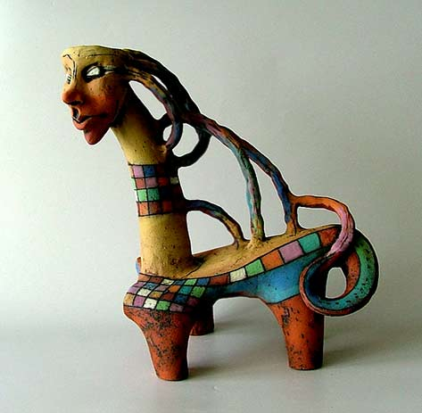 Ceramic animnal - Inna Olshansky