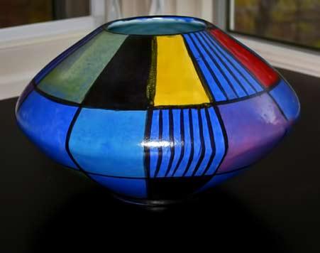mid-century-ceramic-vase-west-germany-handmade-modern-handmade-mondrian-by-bay-keramik