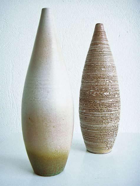 Perignem-pastel-colours long ovoid floor vesselss