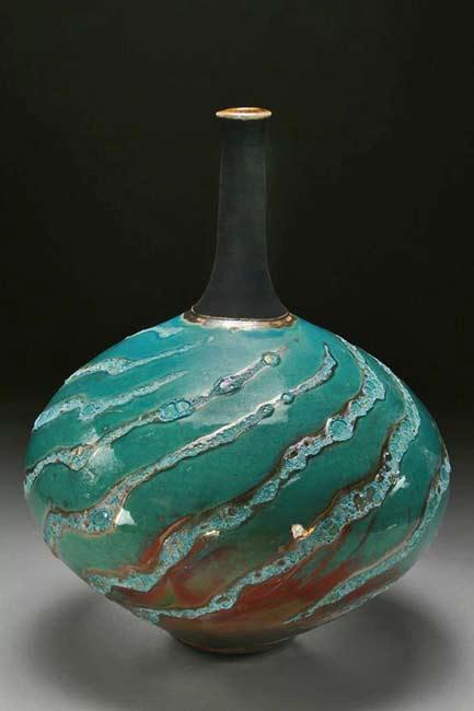 steven-forbes-desoule-long neck globular vessel