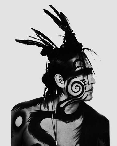 virgil_ortiz_michael_spears-face paint