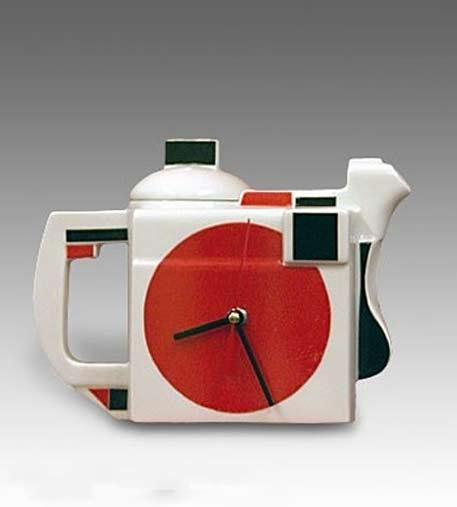 russian-constructivist teapot-clock