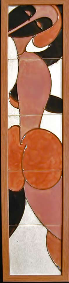 cubist-nude female -panel-strong-harris