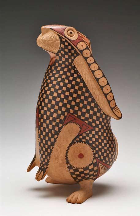 Nicolas-Ortiz terracotta rabbit
