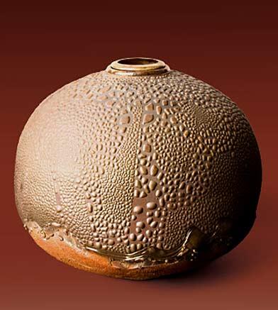 forbes-desoule-cosmos ceramic urn globular
