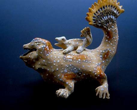 Carol-Gentithes--Sea-Creature sculpture