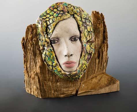 Janet-Smith--Mixed-media sculpyutr