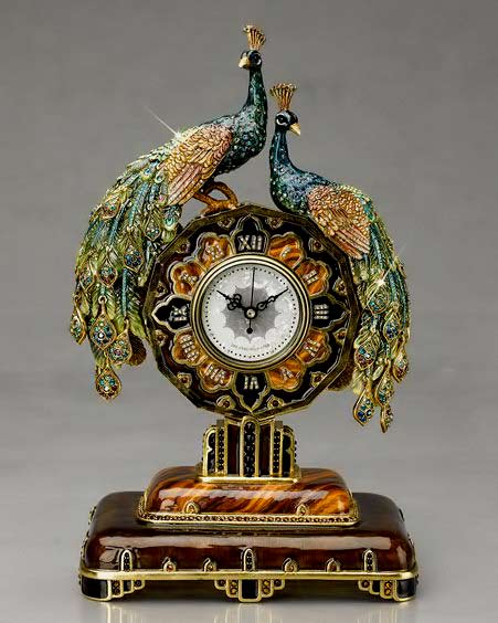Jay-Strongwater-13inch-Peacock-clock