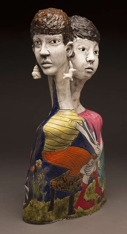 Laura-Jean-McLaughlin--Entangled ceramic sculpture