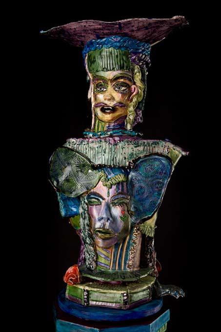 Suzy-Birstein contemporary sculpture bust
