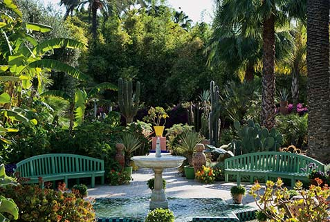 Yves-Saint-Laurent-and-Pierre-Berge's-Moroccan-garden