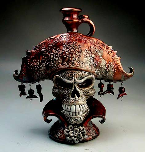 pirate jug Michael Grafton