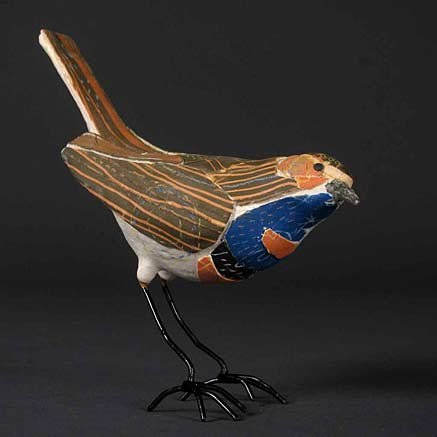Susan-Obyrne-ceramic-bird figurine