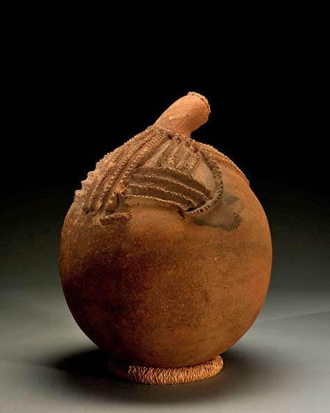 African water vessel - The Dick Jemison Tribal Art Collections