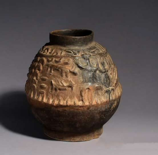Ceramonial pot in NIgeria