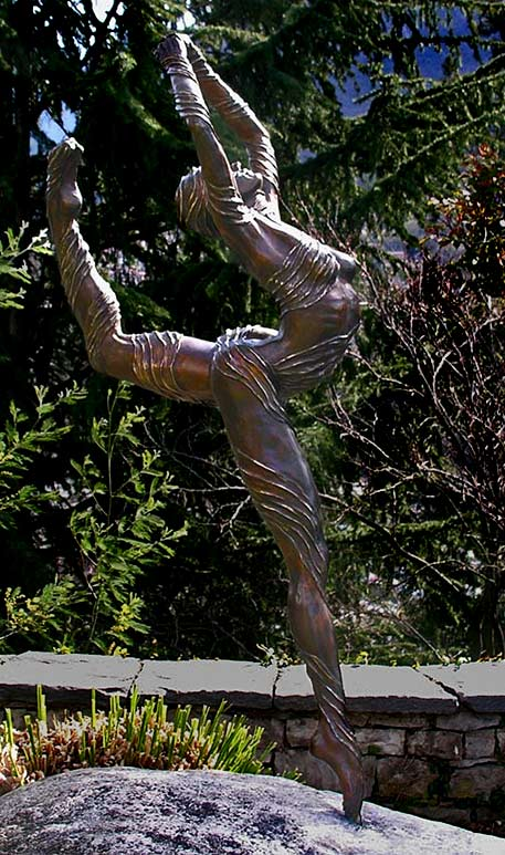 Eva-Antonia Ballerina sculpture in bronze