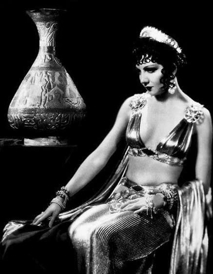 Claudette Colbert wearing satin in 'The Sign of the Cross'
