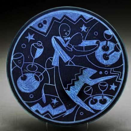 Jazz Age plate by Viktor Schreckengost