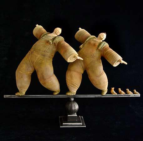 Dany-Jumg wood sculpture