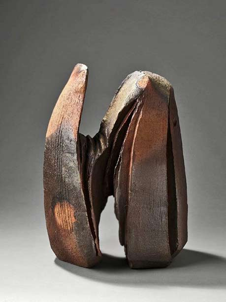 Eric Astoul -ceramic sculptural form
