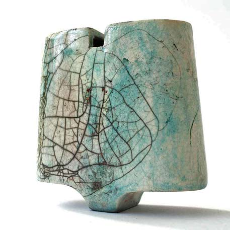 raku sculpture by Florence-Pauliac