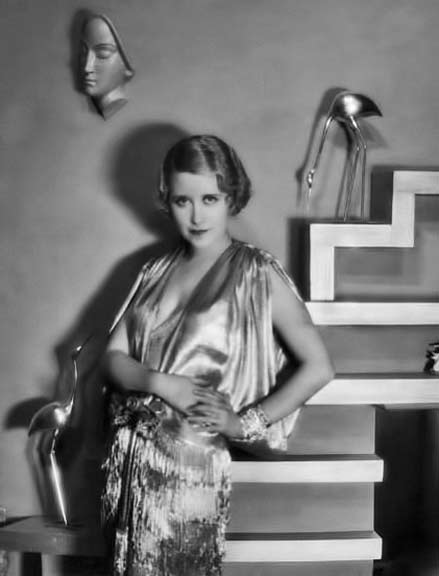 Genevieve-Tobin-in art deco set