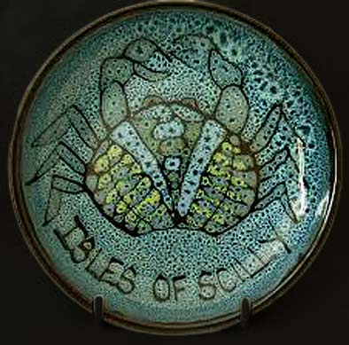 Isles-of-Scilly-Studio crab plate