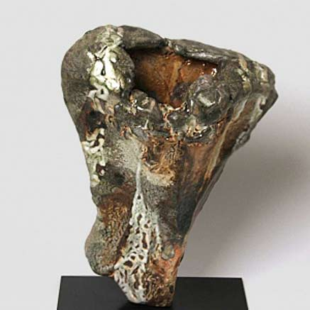Jeff Shapiro sculptural ceramic vase