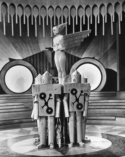 Aelita: 'Queen of Mars' futuristic movie - Russia 1924