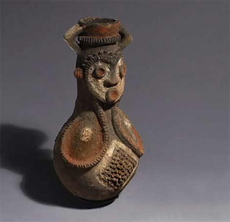 Figure bottle, Mambila, Cameroon
