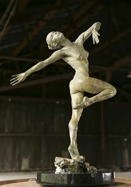 Paige Bradley - 'Summer' =nude female sculpture
