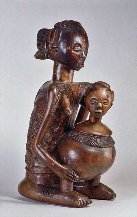 República-Democrática-del-Congo wood carving